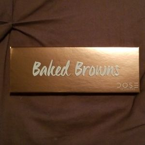Dose Of Colors Baked Browns Eyeshadow Pallette